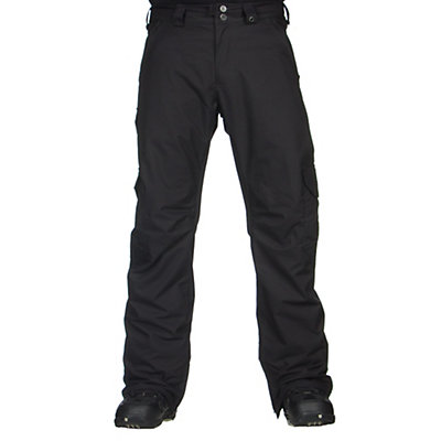 Burton Cargo Mens Snowboard Pants, True Black, viewer