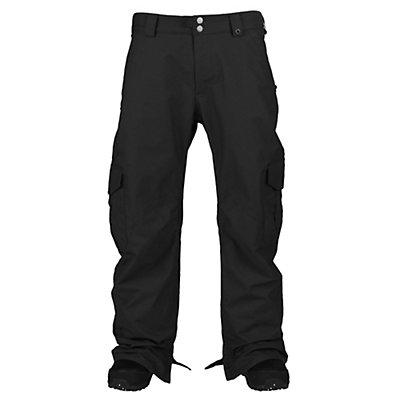Burton Cargo Short Mens Snowboard Pants, True Black, viewer
