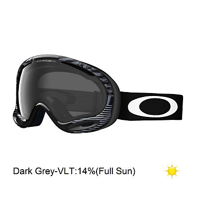 Oakley A-Frame 2.0 Shaun White Goggles, Future Primitive Anthem Black-Dark Grey, viewer