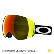 Oakley Flight Deck Goggles 2017, Matte Black-Fire Iridium, medium