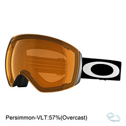 Oakley Flight Deck Goggles, Matte Black-Persimmon, 256