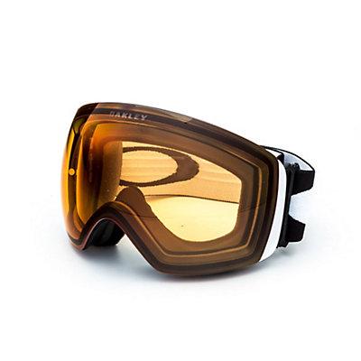 Oakley Flight Deck Goggles, Matte Black-Fire Iridium, viewer
