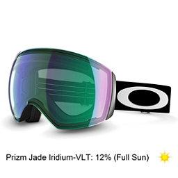 Oakley Flight Deck Prizm Goggles 2018, Matte Black-Prizm Jade Iridium, 256