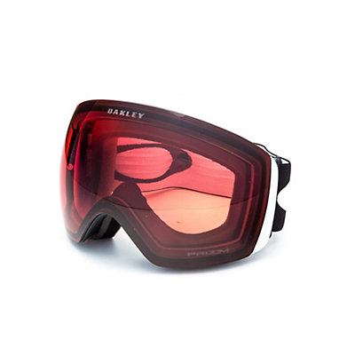 Oakley Flight Deck Prizm Goggles 2017, Matte Black-Prizm Black Iridium, viewer