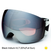 Oakley Flight Deck Prizm Goggles 2016, Light Grey Black-Prizm Black Iridium, medium