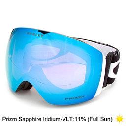 Oakley Flight Deck Prizm Goggles 2018, Matte Black-Prizm Sapphire Iridium, 256