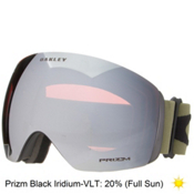 Oakley Flight Deck Prizm Goggles 2016, Matte Black-Prizm Black Iridium, medium