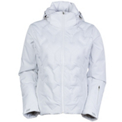 Nils Antonia Womens Insulated Ski Jacket, White, medium