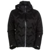 Nils Antonia Womens Insulated Ski Jacket, Black, medium