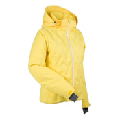 Nils Antonia Womens Insulated Ski Jacket, Lemon, medium