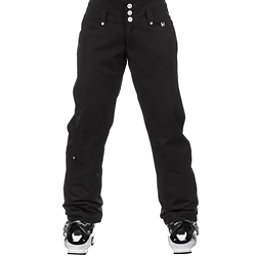 NILS Annalise Long Womens Ski Pants, Black, 256
