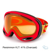 Oakley A Frame 2.0 Goggles 2016, Copper Red-Persimmon, medium