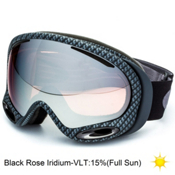Oakley A Frame 2.0 Goggles, Matte Carbon-Black Rose Iridiu, medium