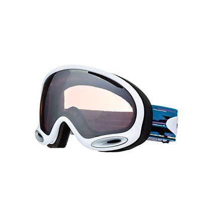 Oakley A Frame 2.0 Goggles, Polished White-Jade Iridium, viewer