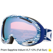 Oakley A Frame 2.0 Prizm Goggles 2016, Sheridan Navy-Prizm Sapphire Iridium, medium