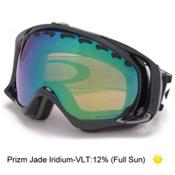 Oakley Crowbar Prizm Goggles 2017, Jet Black-Prizm Jade Iridium, medium