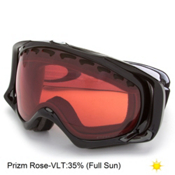 Oakley Crowbar Prizm Goggles 2017, Jet Black-Prizm Rose, medium