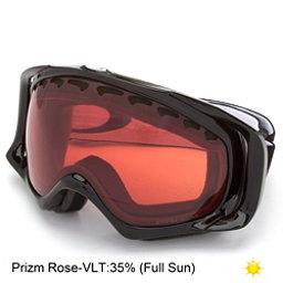 Oakley Crowbar Prizm Goggles, Jet Black-Prizm Rose, 256