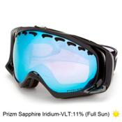 Oakley Crowbar Prizm Goggles 2017, Jet Black-Prizm Sapphire Iridi, medium