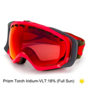 Oakley Prizm Crowbar Goggles 2016, Red Herb-Prizm Torch Iridium, medium