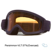 Oakley O2 XS Kids Goggles, Purple Shade-Persimmon, medium