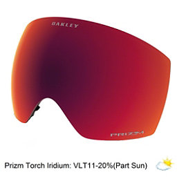 Oakley Flight Deck Goggle Replacement Lens, Prizm Torch Iridium, 256