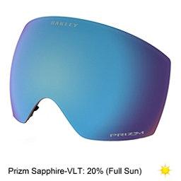 Oakley Flight Deck Goggle Replacement Lens, Prizm Sapphire Iridium, 256