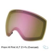 Oakley Flight Deck Goggle Replacement Lens, Prizm Hi Pink Iridium, medium