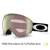 Oakley Flight Deck Alt Fit Goggles 2015, Matte Black-Vr50 Pink Iri