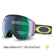 Oakley Flight Deck Alt Fit Goggles 2015, 1975 Lime Gunmetal-Jade Iridium, medium