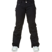 Burton Society Womens Snowboard Pants, True Black, medium