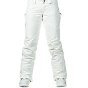 Burton Society Womens Snowboard Pants, Stout White, medium