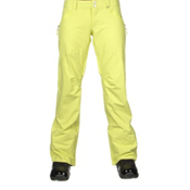 Burton Society Womens Snowboard Pants, Sunny Lime, medium