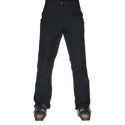 Obermeyer Sugarbush Short Womens Ski Pants, Black, viewer