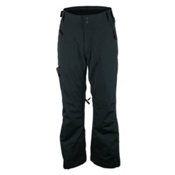 Obermeyer Aspen Short Mens Ski Pants, Black, medium