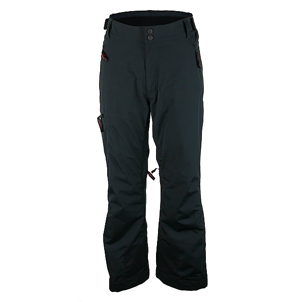 Obermeyer Alpinist Short Mens Ski Pants, Black, 600