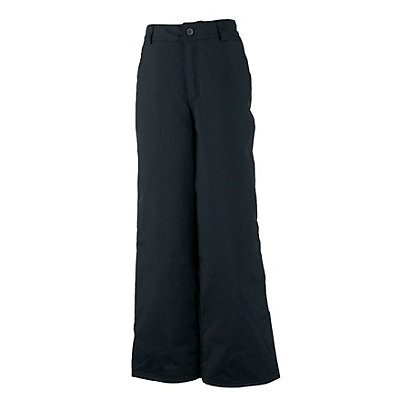 Obermeyer Keystone Husky Teen Boys Ski Pants, Black, viewer