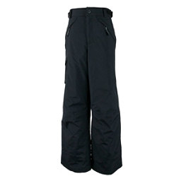 Obermeyer Carve Cargo Husky Teen Boys Ski Pants Kids Ski Pants, Black, 256