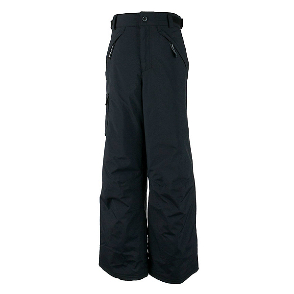 Obermeyer Carve Cargo Husky Teen Boys Ski Pants Kids Ski Pants, Black, 600
