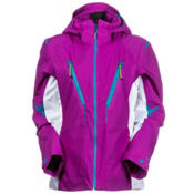 Obermeyer Helyos Womens Insulated Ski Jacket, Viola, medium