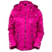 Obermeyer Leighton Womens Insulated Ski Jacket, Wild Berry, medium