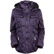 Obermeyer Leighton Womens Insulated Ski Jacket, Italian Plum, medium