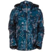 Obermeyer Leighton Womens Insulated Ski Jacket, Mt. Hale Print, medium