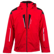 Obermeyer Endurance Mens Insulated Ski Jacket, True Red, medium
