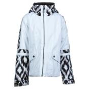 Obermeyer Blake Girls Ski Jacket, White, medium