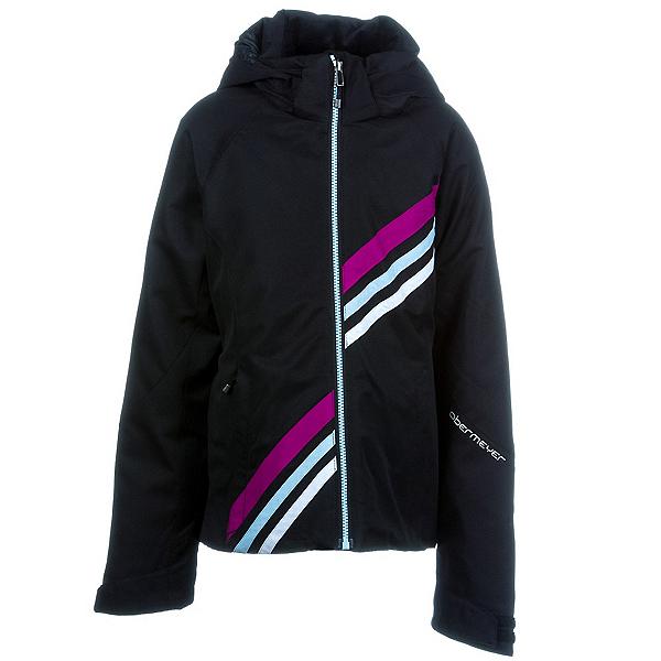 Obermeyer Nateal Teen Girls Ski Jacket, Black, 600