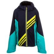 Obermeyer Nateal Girls Ski Jacket, Blue Iris, medium