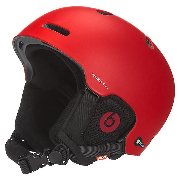 POC Fornix Communication Audio Helmet, Bohrium Red, 600