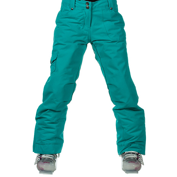 Obermeyer Leilani Teen Girls Ski Pants, Wintergreen, 600