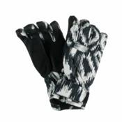 Obermeyer Alpine Girls Gloves, Ikat Print, medium